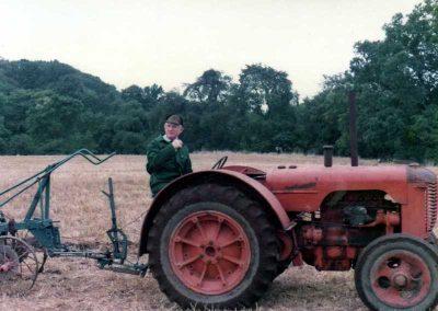 Ploughing at Carlisle